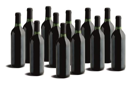12 BOTELLAS VINO TINTO